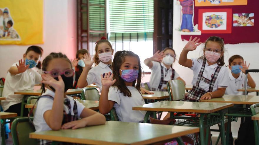 Más de 65.000 alumnos de Infantil y Primaria regresan este viernes a las aulas en Córdoba