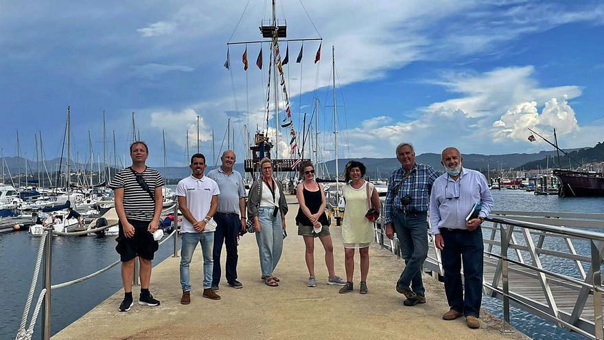 El Xacobeo llega a Cangas por el mar