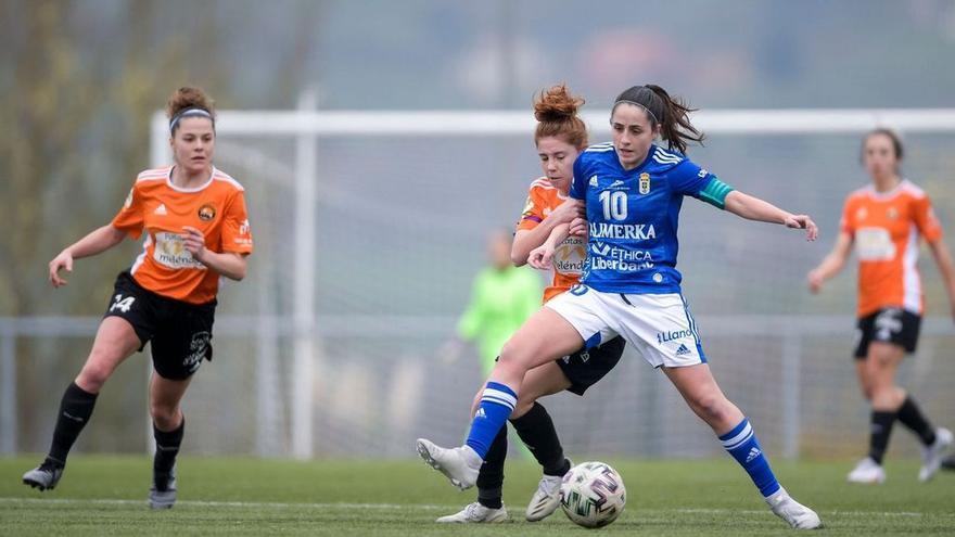 El Oviedo y el Sporting Femenino vencen en la última jornada de la primera fase de la Liga