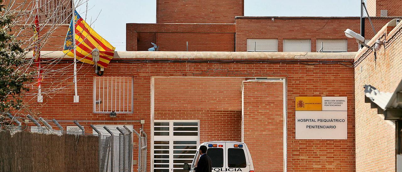 Imagen de archivo de la entrada al Hospital Psiquiátrico Penitenciario de Fontcalent.