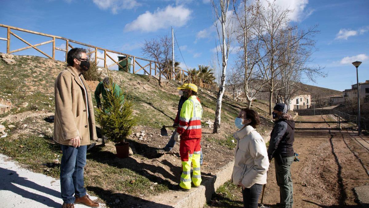 Los Consejos Comarcales en Caravaca han permitido el arreglo de varios caminos