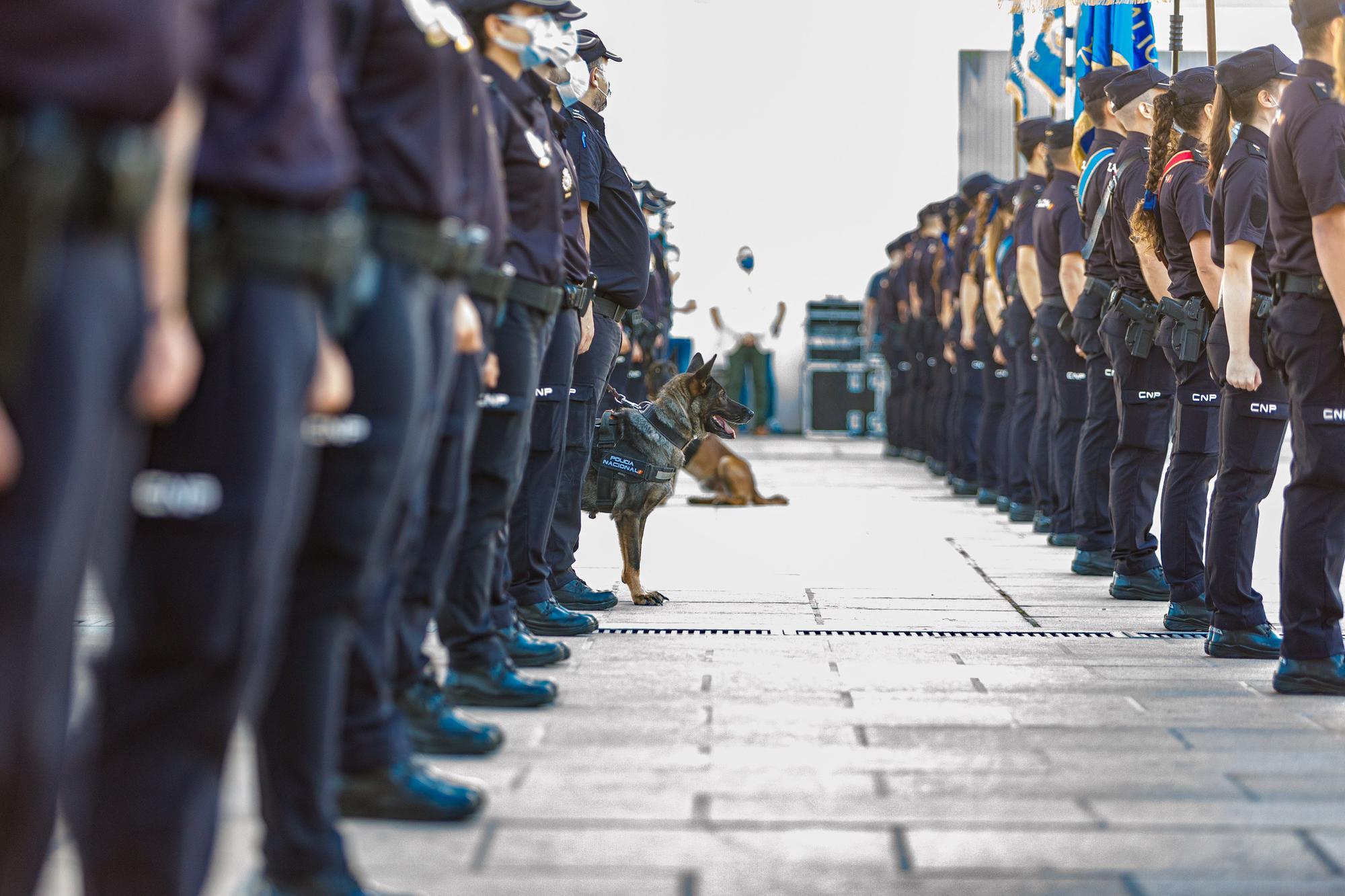 La promoción policial más tardía inicia las prácticas en la provincia