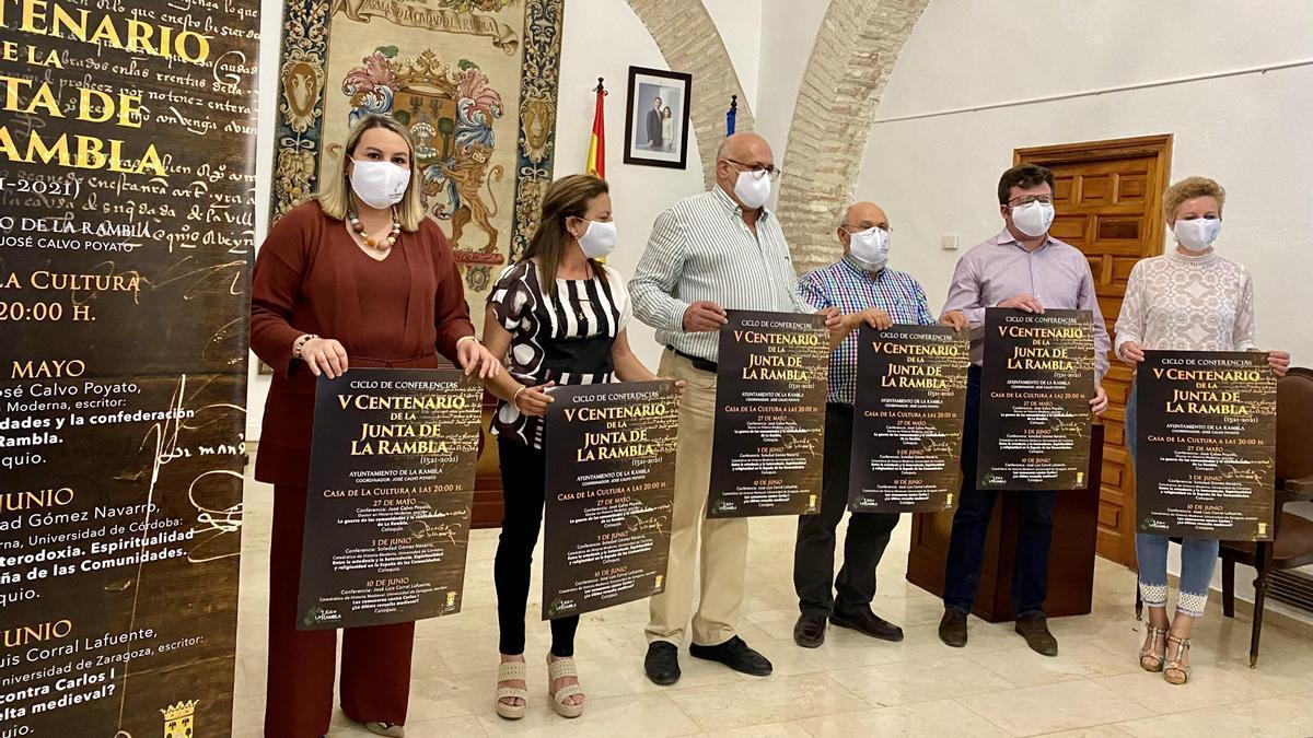 Presentación de los actos conmemorativos en La Rambla