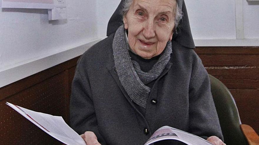 Fallece sor Caridad Megía, la sonrisa de las Misioneras Cruzadas