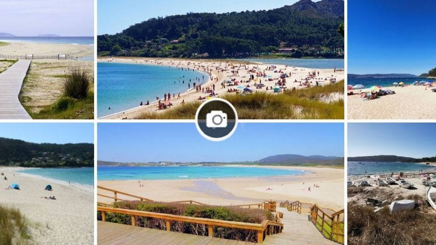 Recorrido por las 111 playas de Galicia con bandera azul