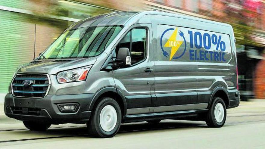 Ford E-Transit, el profesional más eficiente