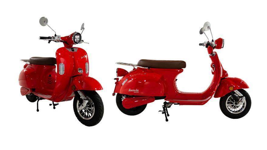 Invicta Electric EV Rueda: un ciclomotor eléctrico retro y muy tecnológico desde 2.995 euros