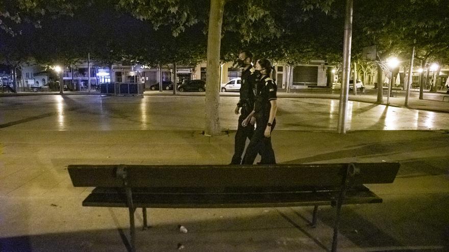 Carrers buits i sense incidències en la primera nit del nou toc de queda a Solsona