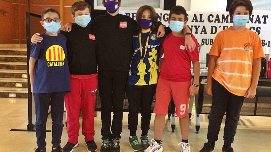 Paper destacat del Catalònia Joviat  en el català per equips d'edats a Lloret