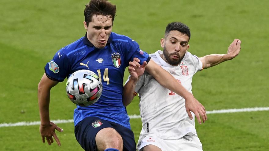 Las mejores imágenes del España- Italia de la Eurocopa