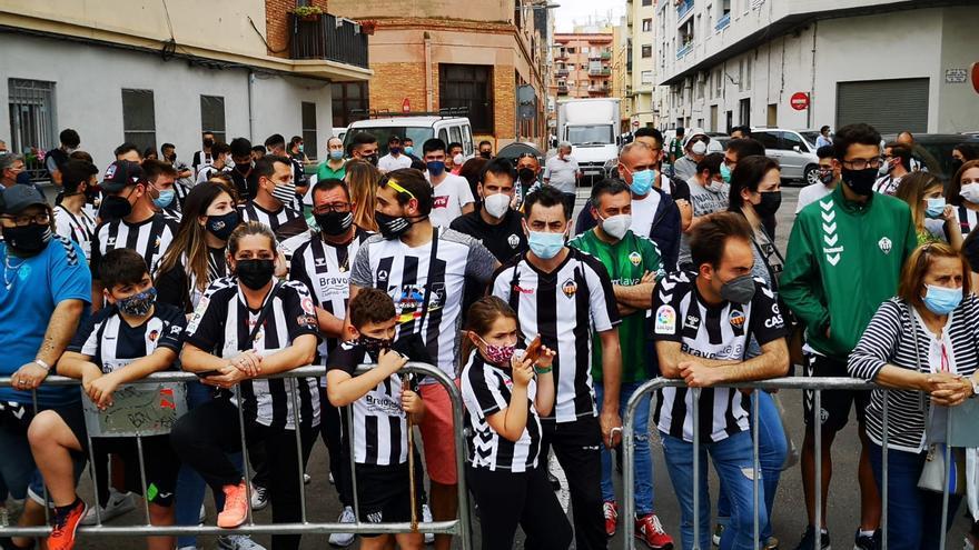 Así ha sido la llegada del CD Castellón a Castalia