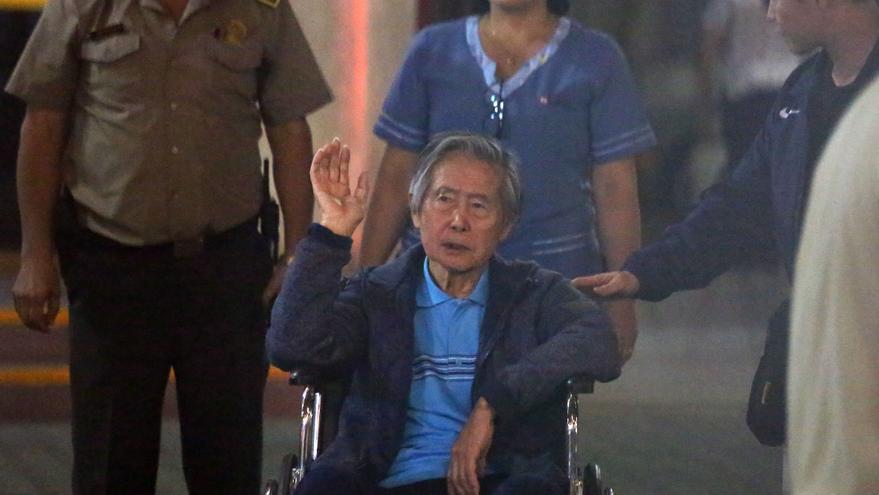 Empeora la salud del expresidente peruano Alberto Fujimori