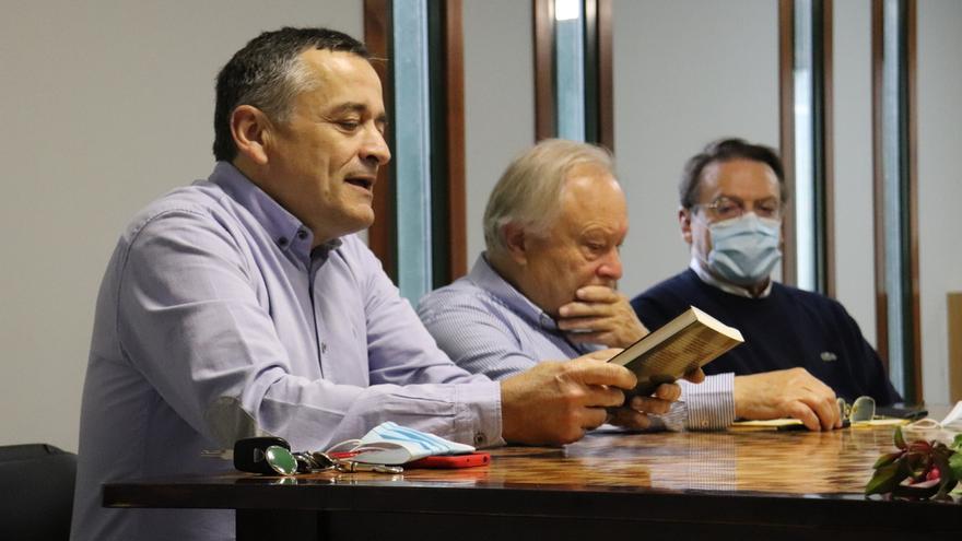 Alberto Fortes presenta en Portas un libro sobre la figura de Domingo Fontán, el cartógrafo de Galicia