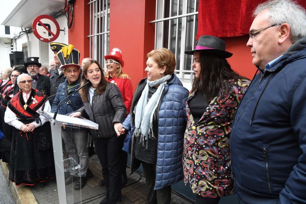 La ciudad recuerda a Cantero, Canzobre, César San José y Juan Manuel Iglesias en la calle Arenal, la plaza del Parque, San José y la plaza Juan Iglesias Mato.