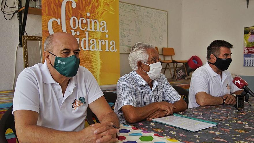 La Cocina Solidaria espera llegar a repartir 15.000 menús diarios hasta final de año