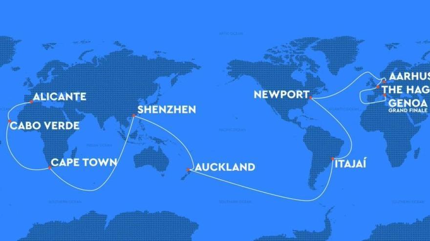 Así será la Ocean Race 2021-22 con salida de Alicante