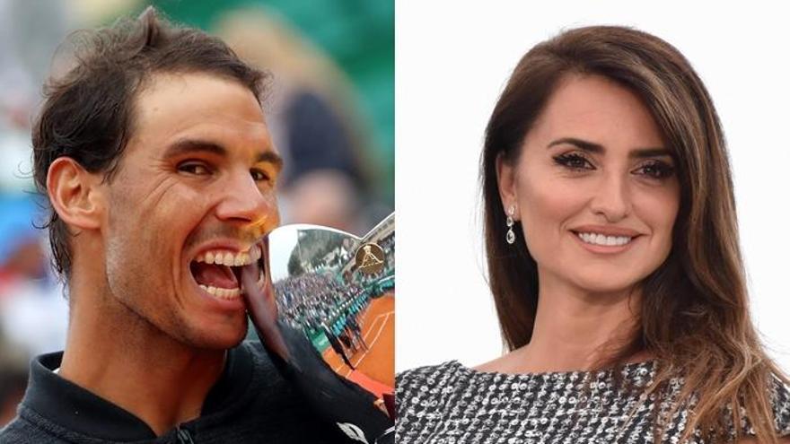 Rafael Nadal y Penélope Cruz, los preferidos por los españoles para irse de cañas