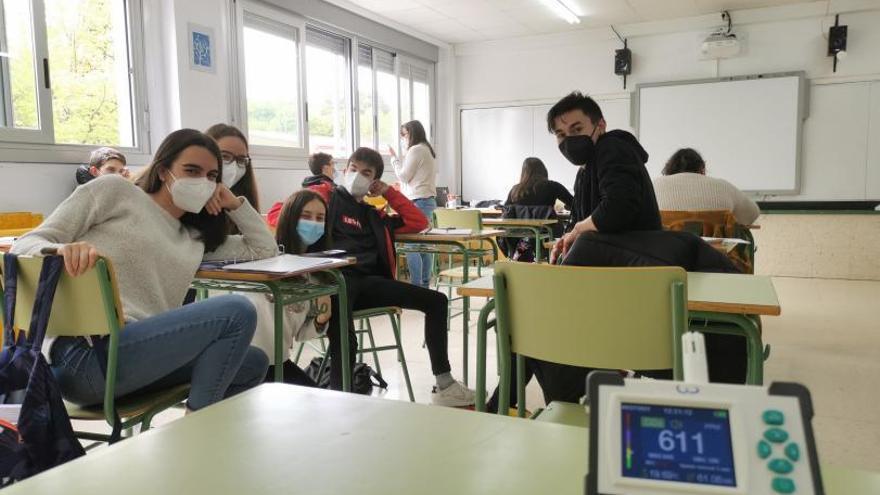 En clase, que corra el aire