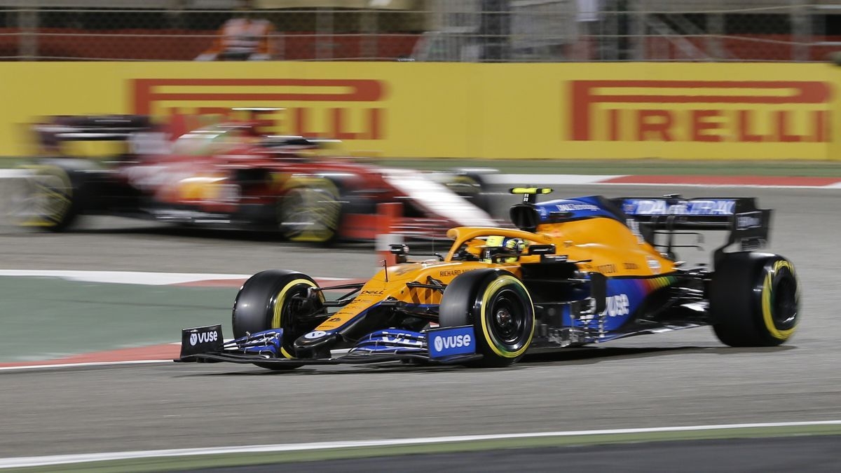 El piloto de McLaren Lando Norris.