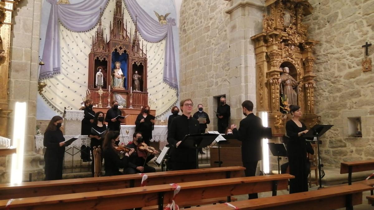 Concierto de Ensemble Semura Sonora en Fermoselle.