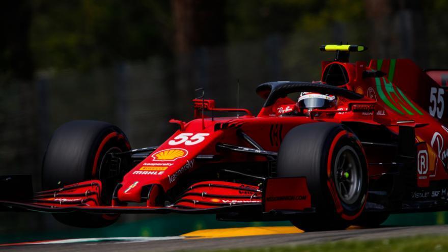 Alonso y Sainz saldrán 15º y 11º en el GP de Emilia-Romaña