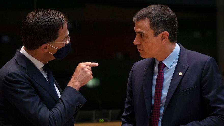 Sánchez se abre al control sobre el desembolso, pero rechaza los vetos