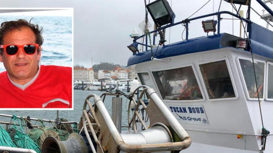 Un muerto al caer de un pesquero en Pontevedra