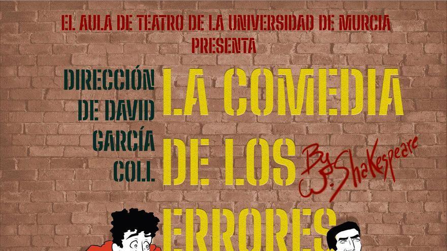 El aula de teatro de la UMU estrena 'La comedia de los errores' de Shakespeare en el Teatro Villa de Molina