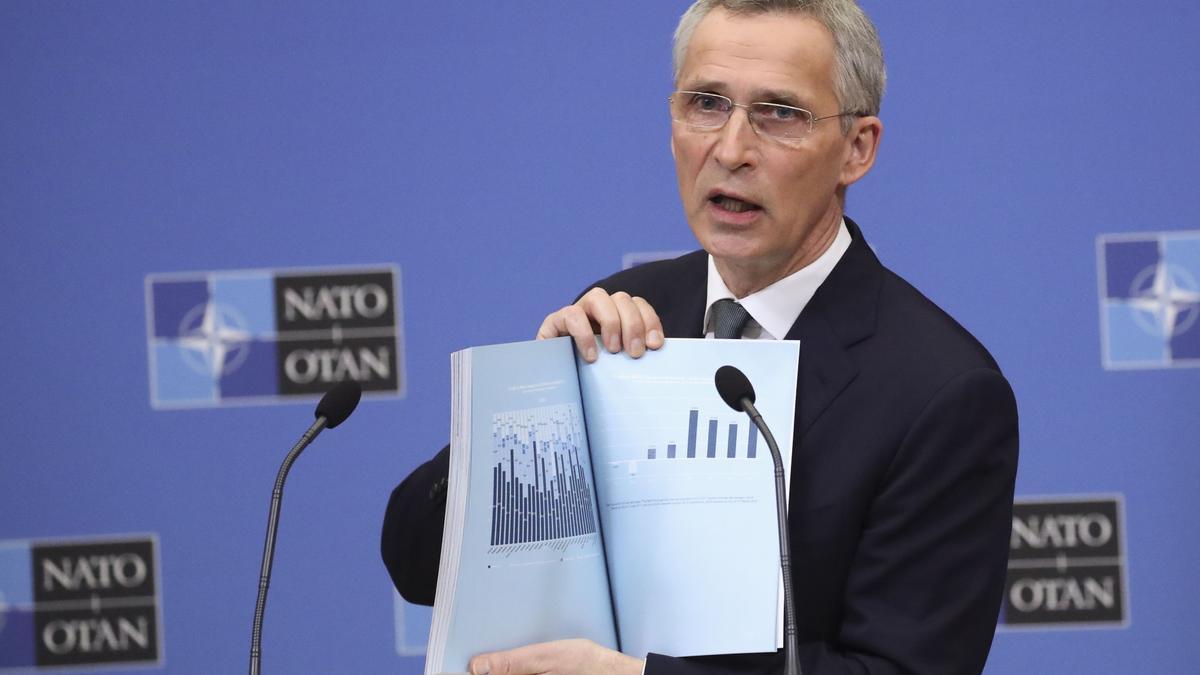 El director de la OTAN, Jens Stoltenberg.
