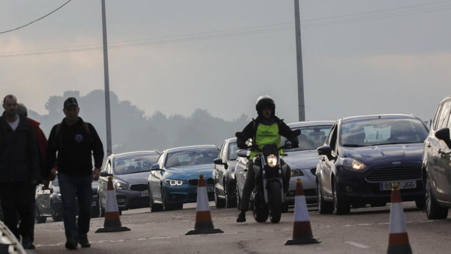 Un motorista de 37 años  fallece en un accidente en Cheste