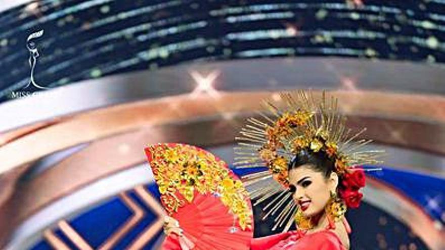 Iris Miguélez compite por el título de Miss Grand International