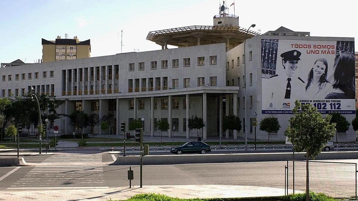 Comisaría Provincial de Málaga.