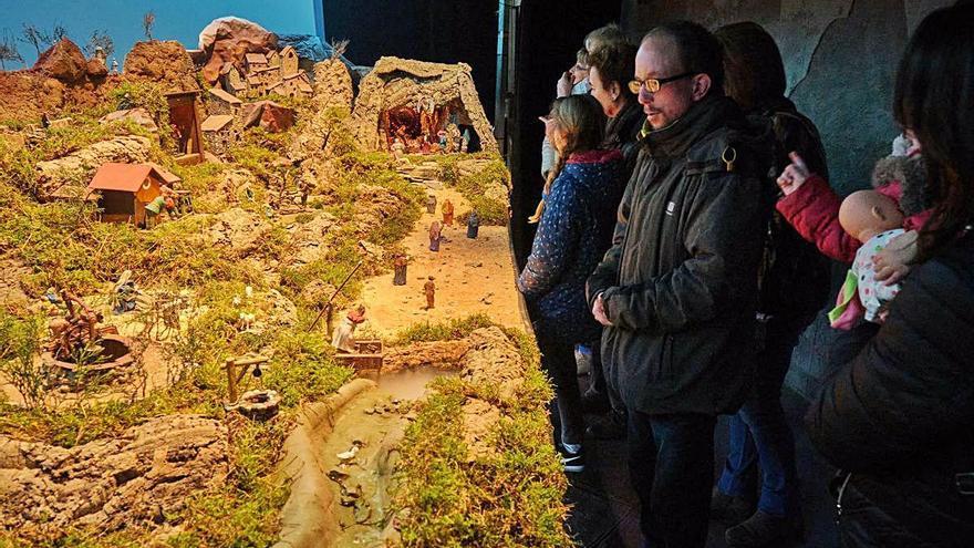 La Cate manté l'exposició de diorames a Sant Sebastià