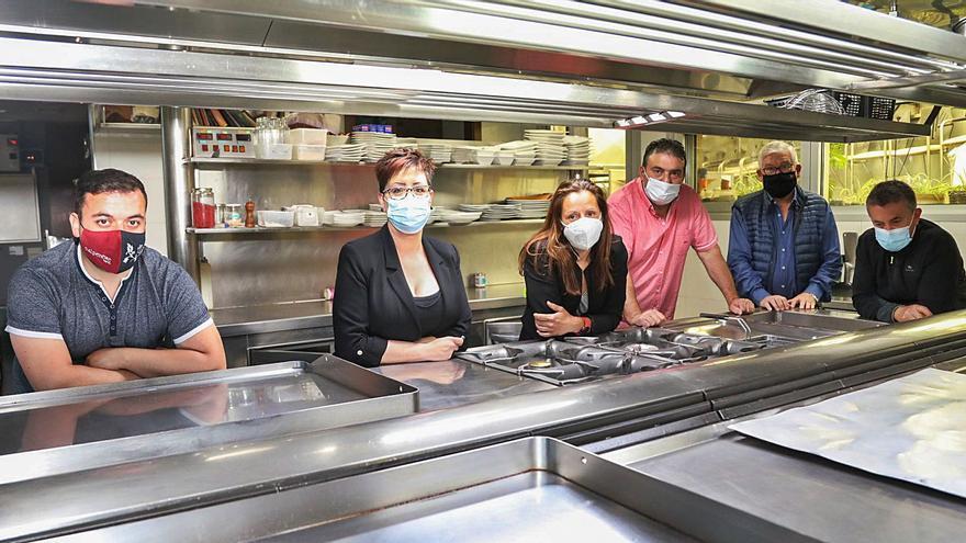 Frente común de la hostelería de Mos contra el cierre del sector y los furanchos