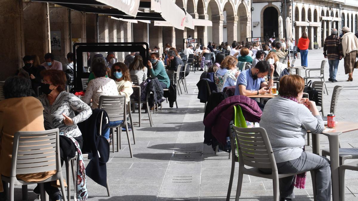 La reapertura de terrazas en A Coruña