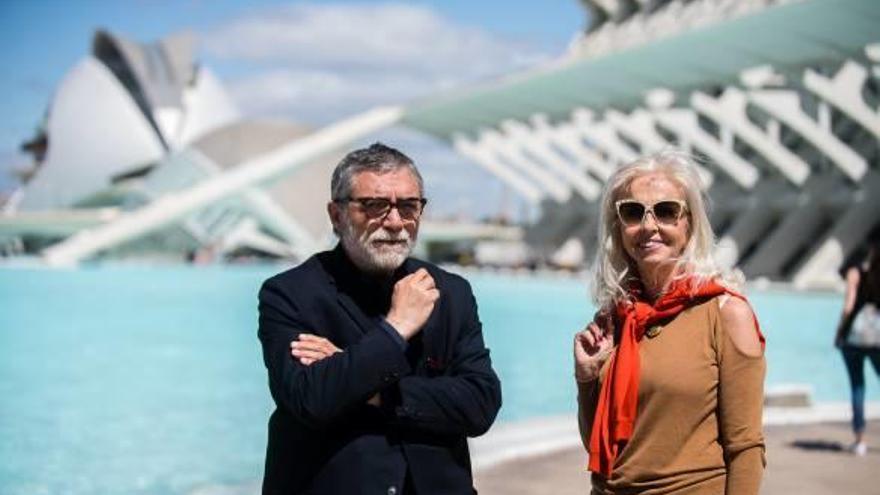 Jaume Plensa ultima los detalles de su exposición  en la Ciutat de les Arts