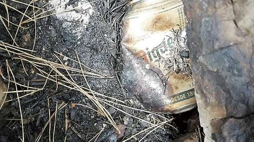 Incendios causados por colillas