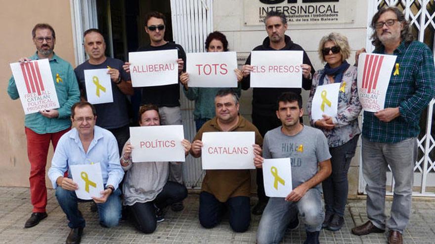 """El STEI exige """"la libertad de los presos políticos catalanes"""""""