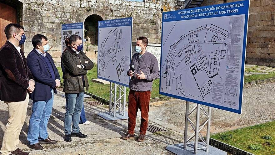 La Xunta destina 650.000 euros a mejorar el Camino Real del castillo de Monterrei