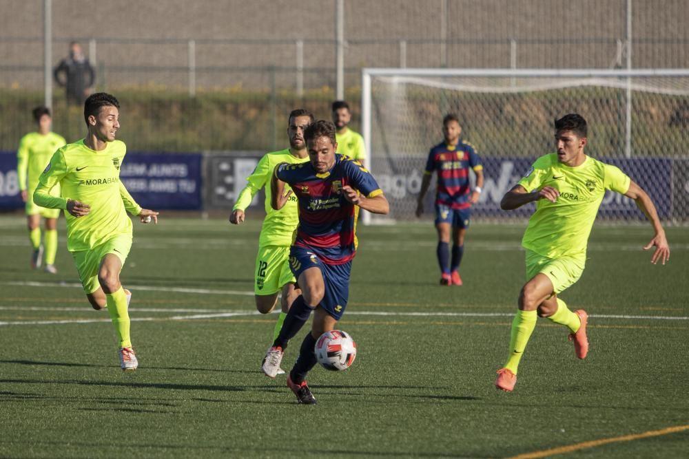 L''estrena del Llagostera contra l''Andorra, en imatges