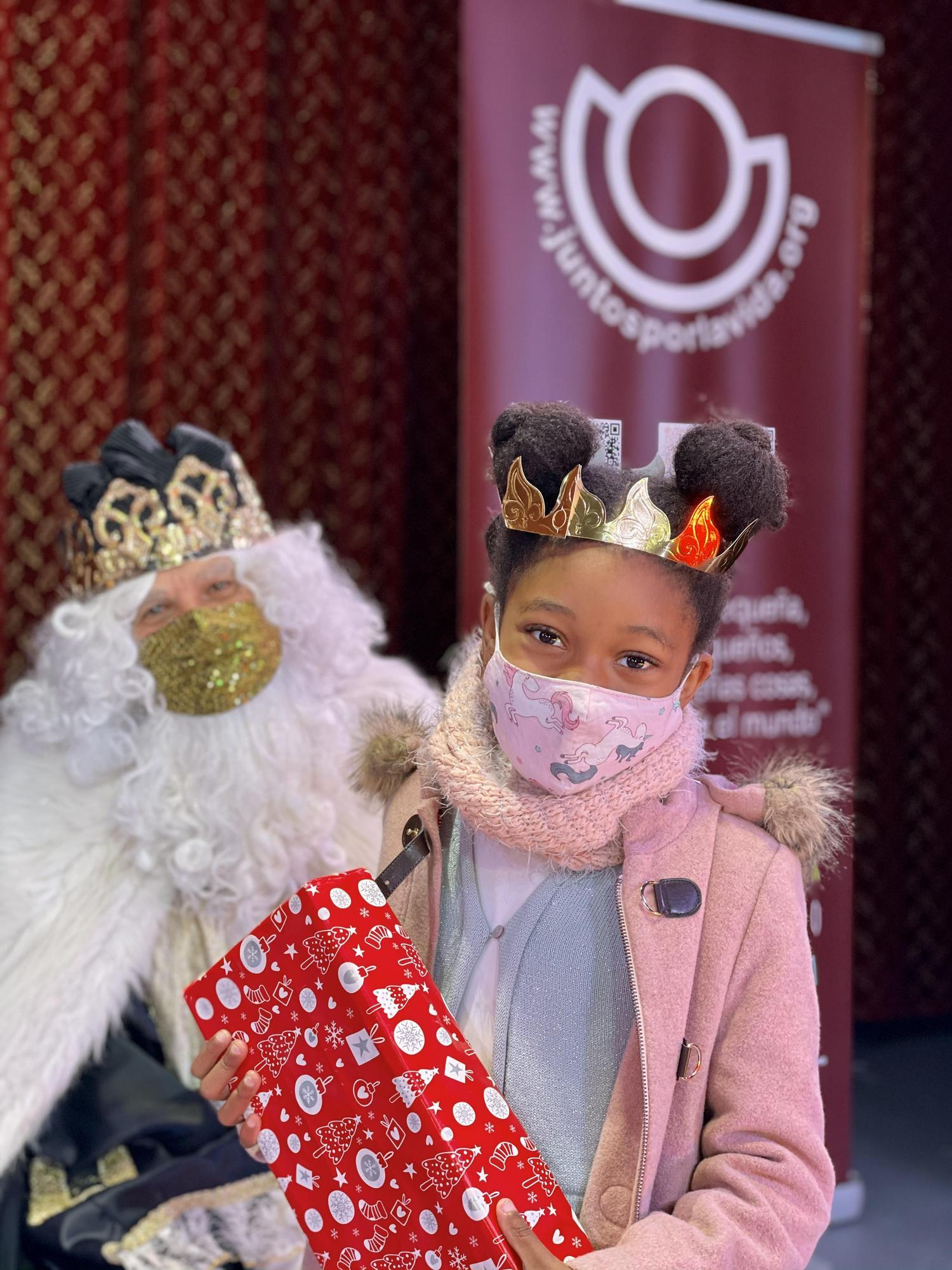 Reyes Magos solidarios para niños de familias afectadas por la covid