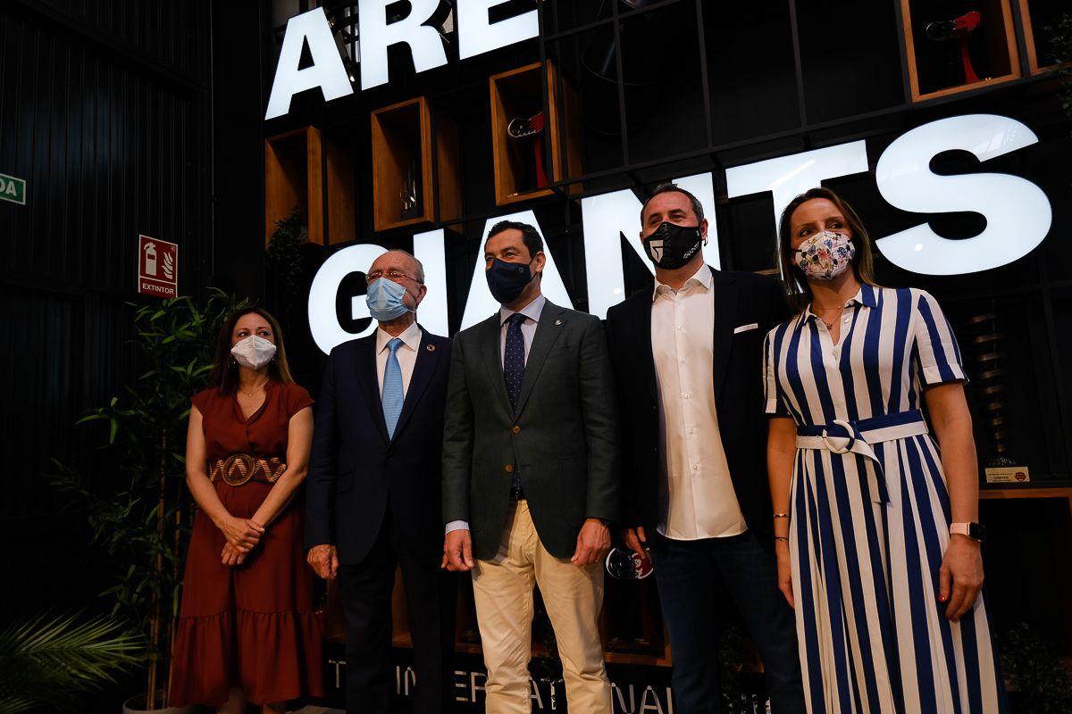 Inauguración del centro de gaming Vodafone Giants de Málaga
