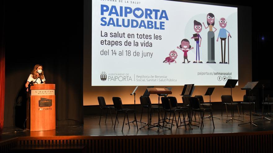 La Semana de la Salud de Paiporta analiza la importancia de las costumbres saludables en la infancia