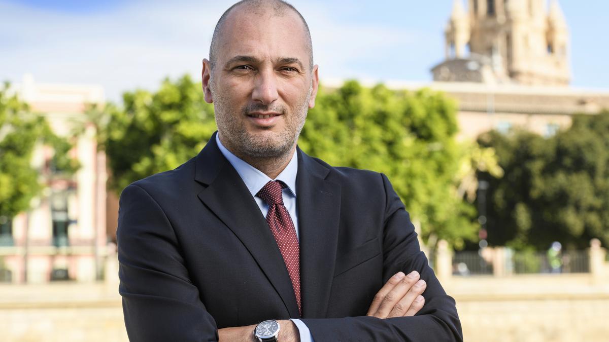 El concejal de Cultura, Turismo y Deportes, Pedro J.García Rex.
