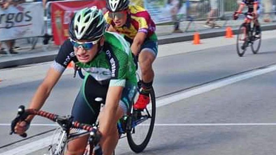 Sergio López, segundo en la carrera de Burgos