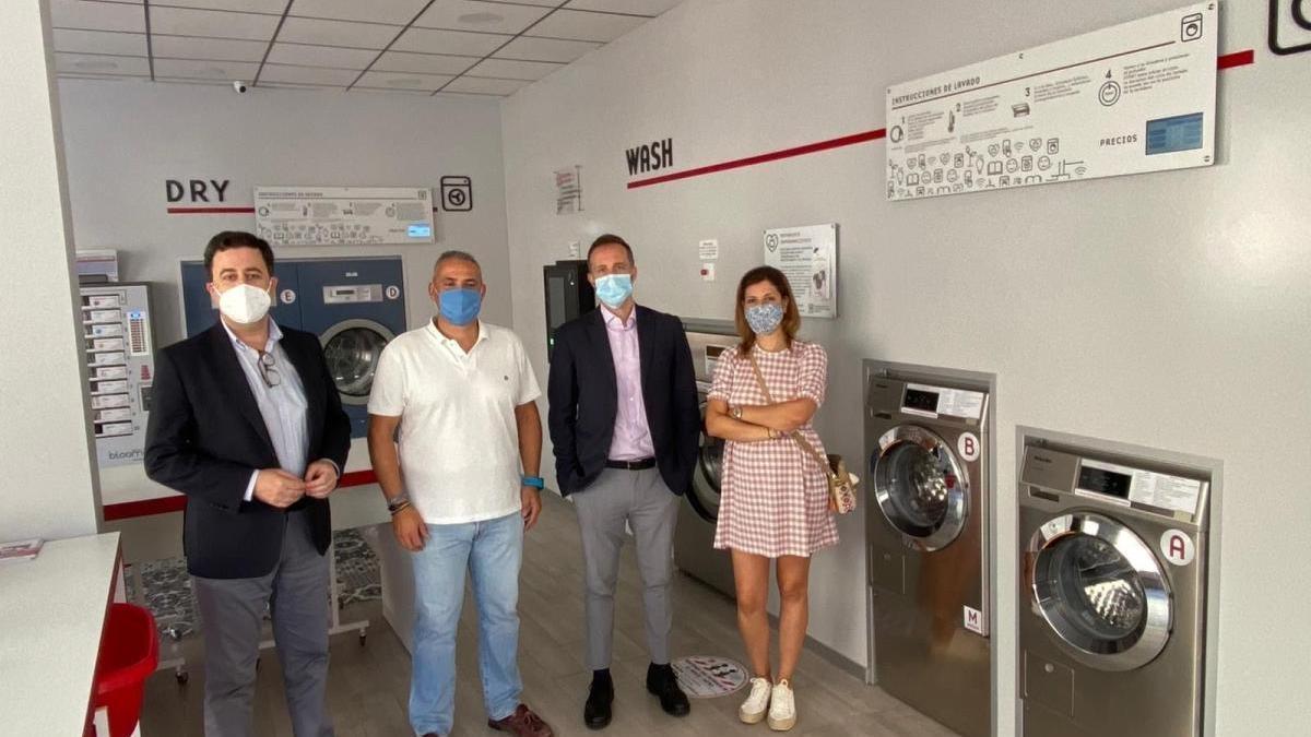 Apertura de una nueva lavandería autoservicio Bloomest en Almendralejo