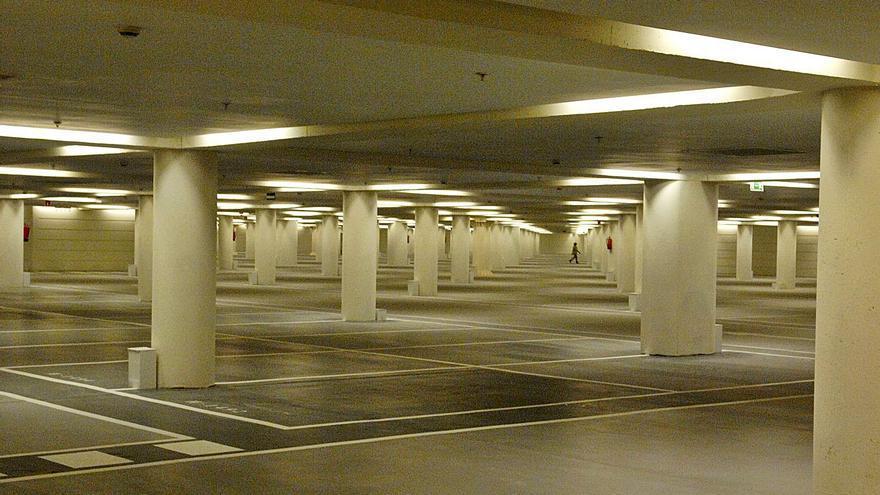 El parking del Calatrava, en concurso de acreedores desde 2018, sale a subasta
