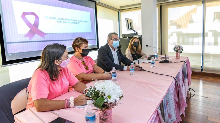 Benidorm conmemora con Anémona el Día Internacional contra el Cáncer de Mama