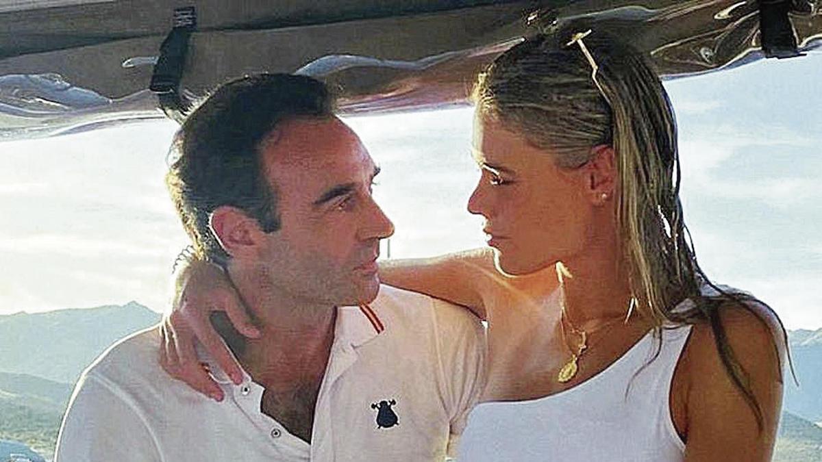 Ponce y su nueva novia, la joven Ana Soria.
