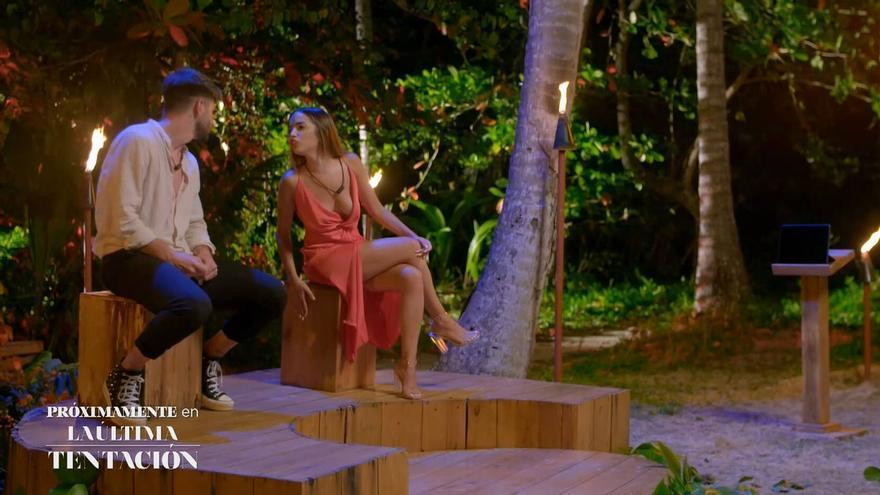 """Lucía dura con Isaac en La Última Tentación, """"eres un cerdo"""", y un concursante abandona el programa"""